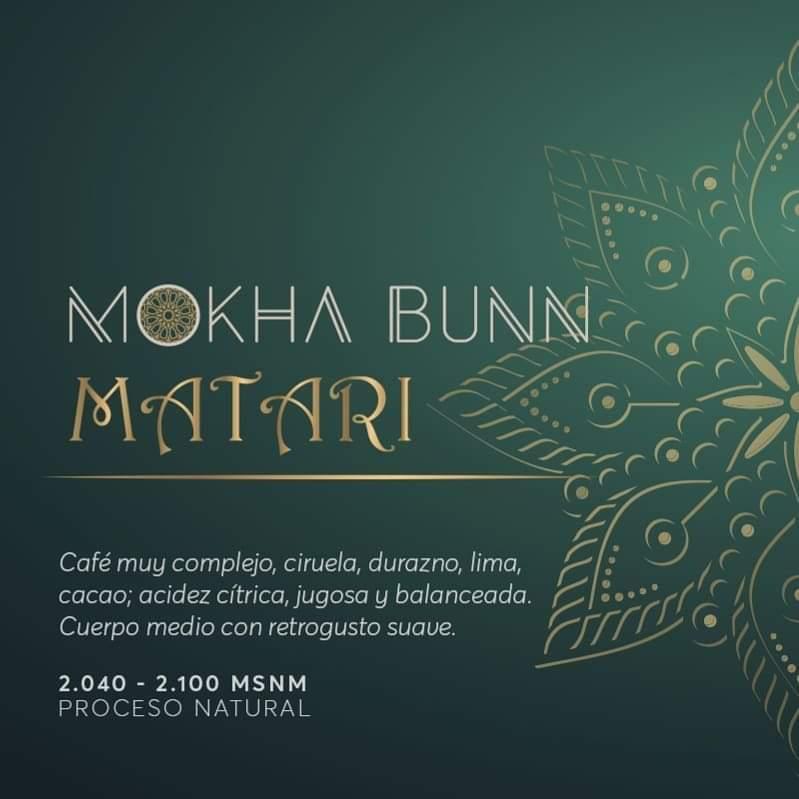 Matari Cafe De Especialidad De Yemen Mokha Bunn Chile