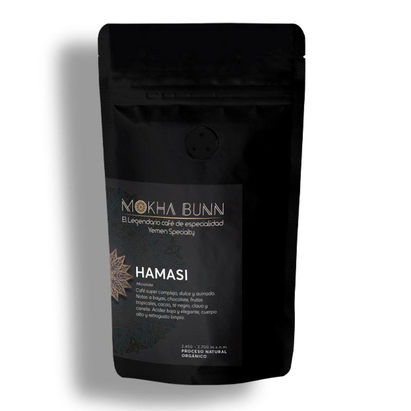 Hamasi Café De Especialidad-De Yemen Mokha Bunn Chile