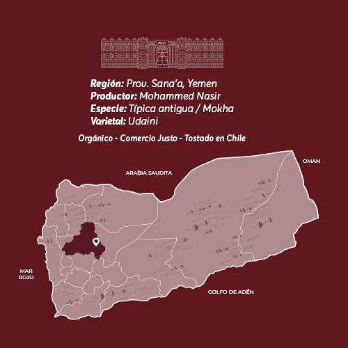 Mokha Sanaani Café De Especialidad De Yemen Mokha Bunn