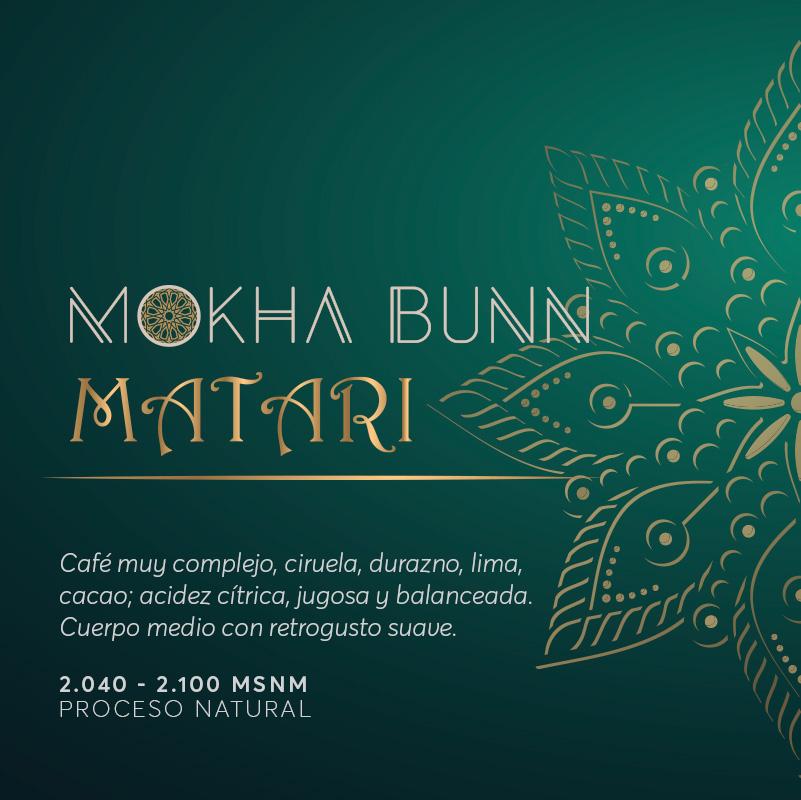 Matar Cafe De Especialidad Mokha Bunn
