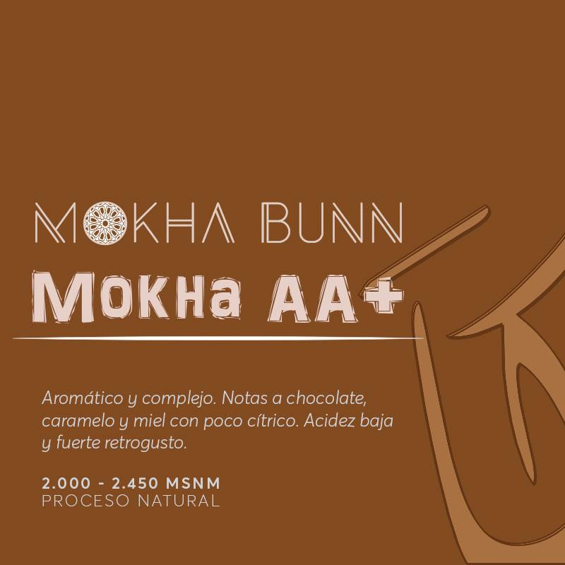 MOKHA AA+| Café De Especialidad De Yemen Mokha Bunn Chile
