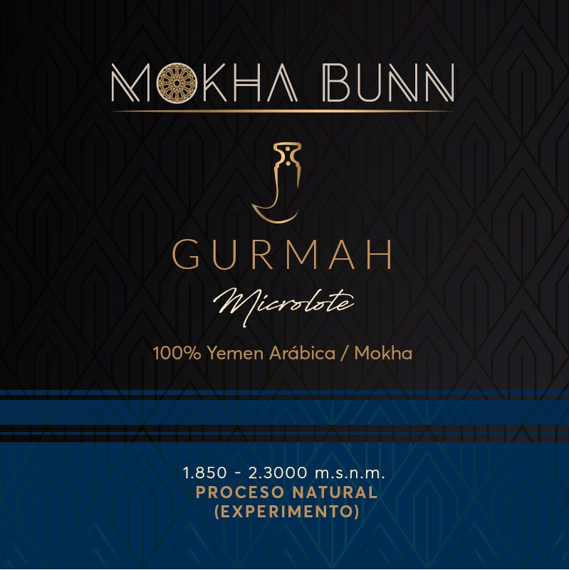 Gurmah Coffee Limited Edition Mokha bunn