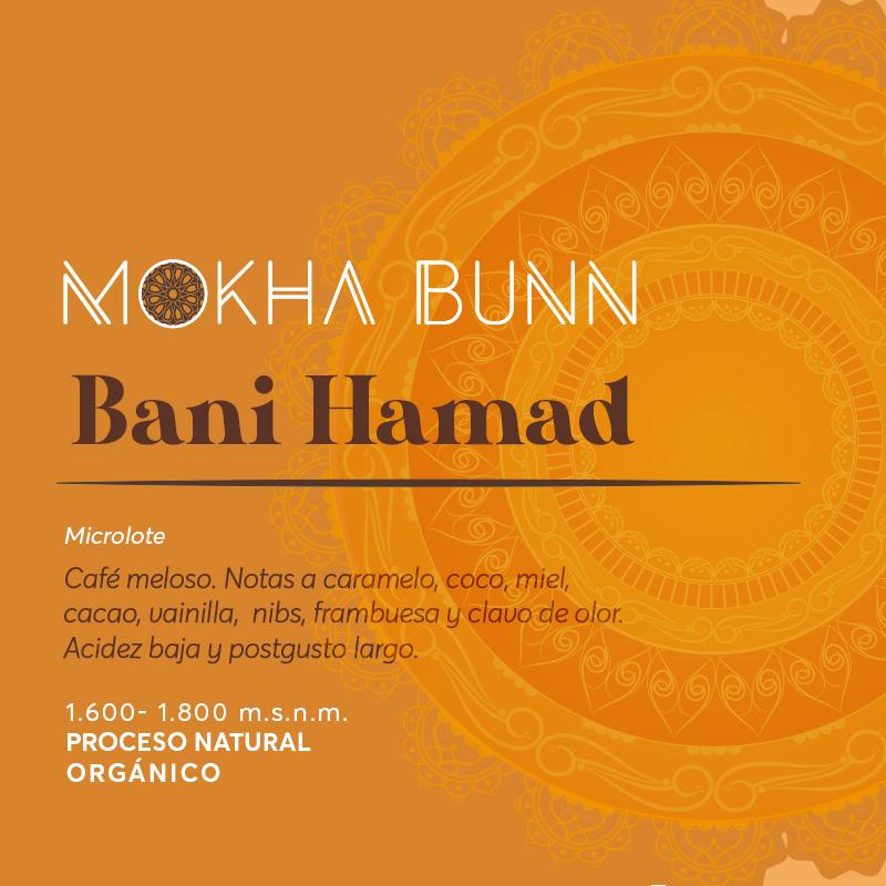 Bani Hamad Café De Especialidad De Yemen Mokha Bunn