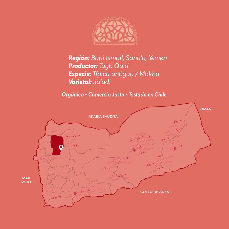 cafe de especialidad de Yemen