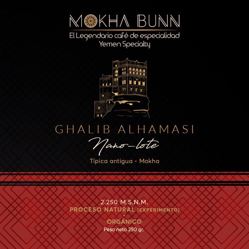 Café de especialidad Ghalib Alhamasi