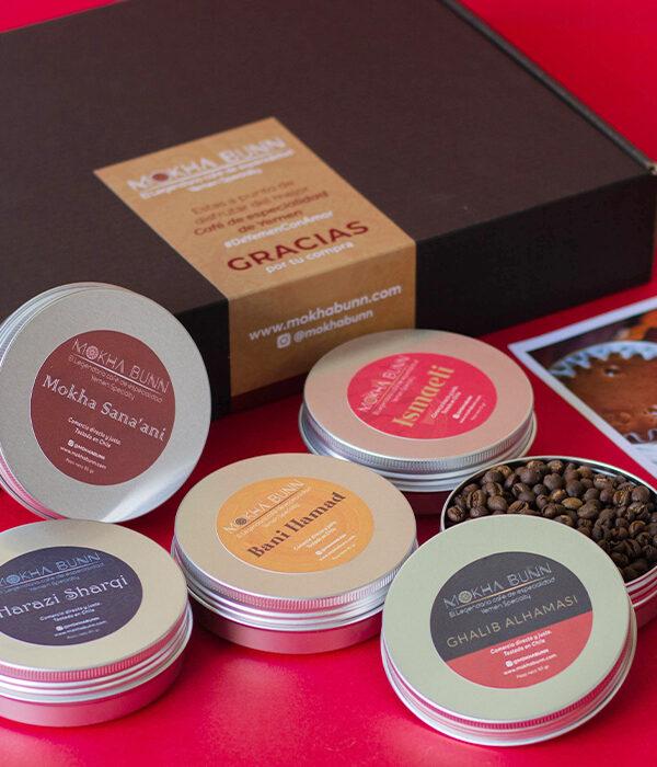 Pack Café De Especialidad-De Yemen Mokha Bunn Chile