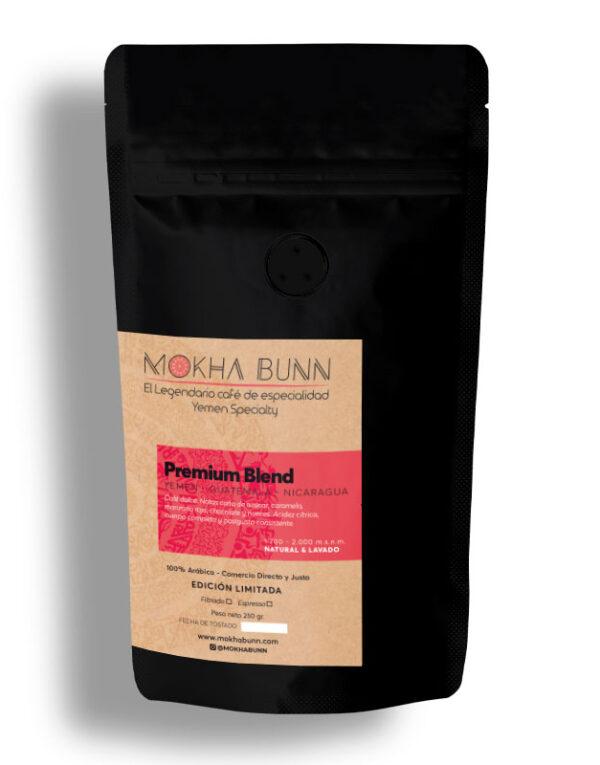Premium Blend Café De Especialidad De Yemen Mokha Bunn Chile