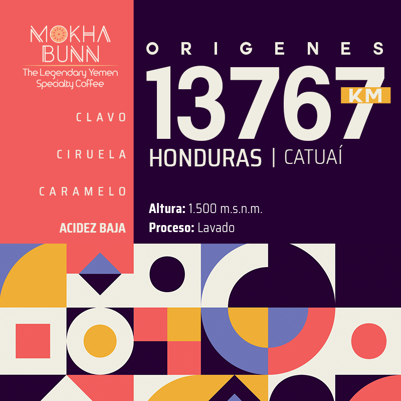Cafe de Honduras Café De Especialidad Chile Mokha Bunn