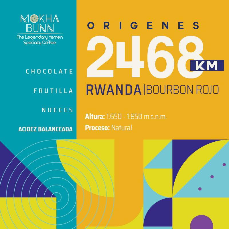 Cafe de Rwanda Café De Especialidad Chile Mokha Bunn